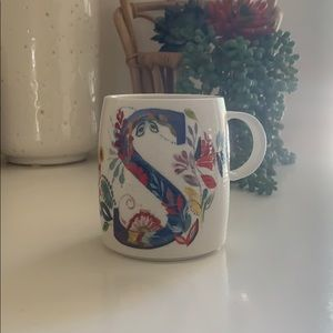 "Anthropologie - Starla Halfmann ""S"" Mug"